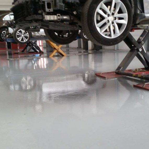 Epoxy floor for Garage in Clonmel
