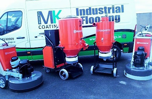 Floor Preparation machinery