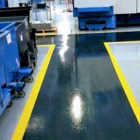 Coloured Flooring Pathway